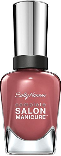 Sally Hansen Complete Salon Manicure, Farbe Peach of Cake (547), 1er Pack (1 x 15 ml)