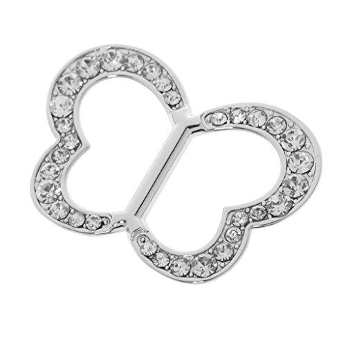 Damen Schmuck, Tuchclip, Tuchspange, Trachtenspange, Schalclip, Trachtenbrosche Geschenk - Silber 4