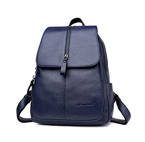 DEERWORD Damen Rucksackhandtaschen Damenhandtaschen Tornistertaschen Henkeltaschen Umhängetaschen Blau