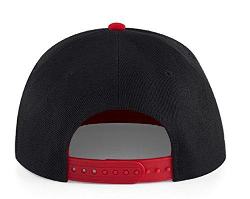 Beechfield - Casquette de Baseball - Homme Noir noir Taille Unique H