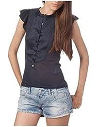 ZU ELEMENTS Z11086026091HC CALOPSITE Camiseta con Las Mangas Cortas Mujer