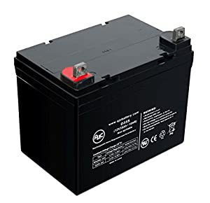 Pride Mobility BATLIQ1017 AGM 12V 35Ah Wheelchair Battery - This is an AJC Brand® Replacement
