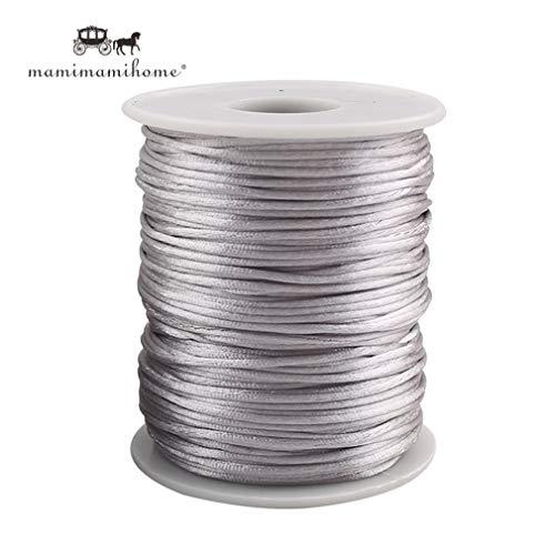 Mamimami Home 75m Satin Nylon Cord Perfekt für -