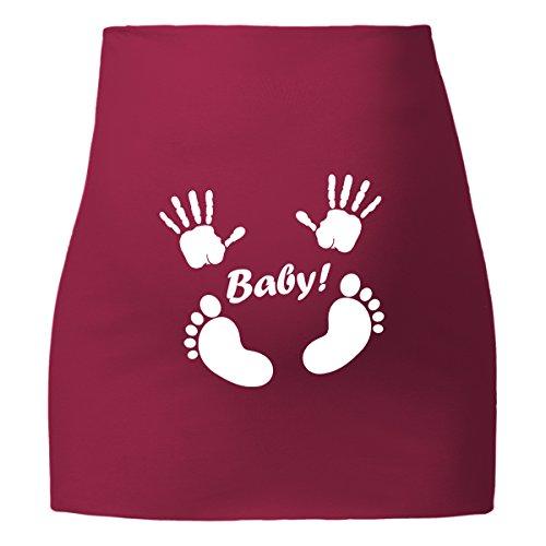 ShirtWorld - Bauchband - Baby Pink