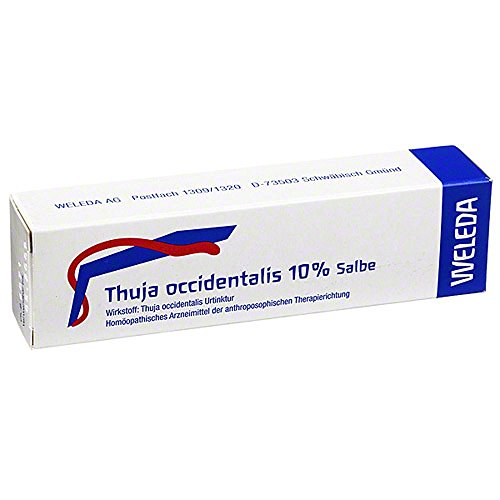 THUJA OCCIDENTALIS 10% Salbe 25 g Salbe