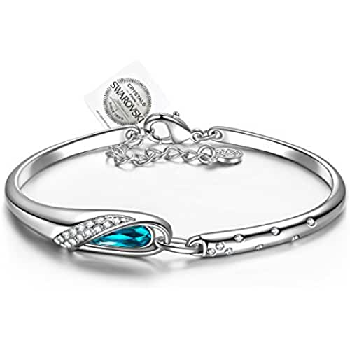 ofertas para el dia de la madre Pauline & Morgen Cinderella Bracciale per donna realizzato con cristalli SWAROVSKI®