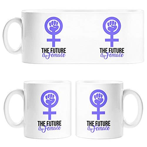 Taza The Future Is Female futuro feminista - Cerámica