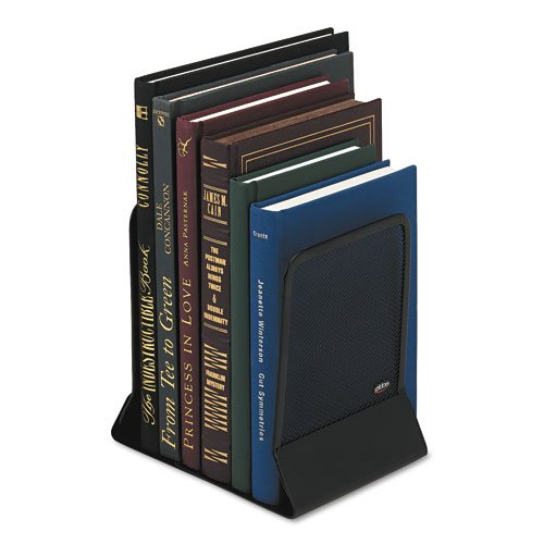 mesh-metal-bookends-5-1-4x6-1-4x5-black-sold-as-1-pair