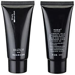 XIUZILM Blackhead Mask Mud Nose Face Black Clean Pore Peel Off Remover Deep Cleaner Purifying