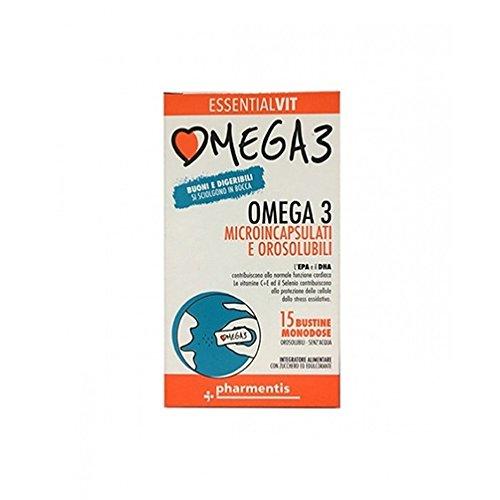 Pharmentis Essentialvit Omega3 Integratore Alimentare 15 Bustine