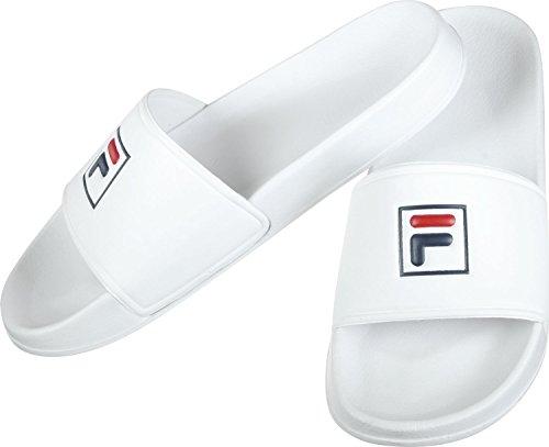 Fila Damen Palm Beach Slipper White Weiß