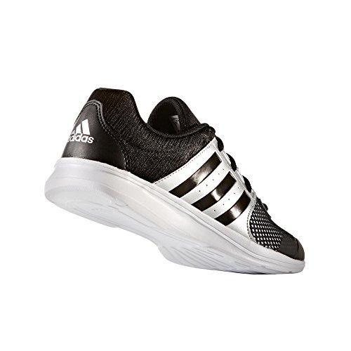 adidas Essential Fun Ii W, Scarpe da Ginnastica Donna Nero (Core Black/Silver Met)