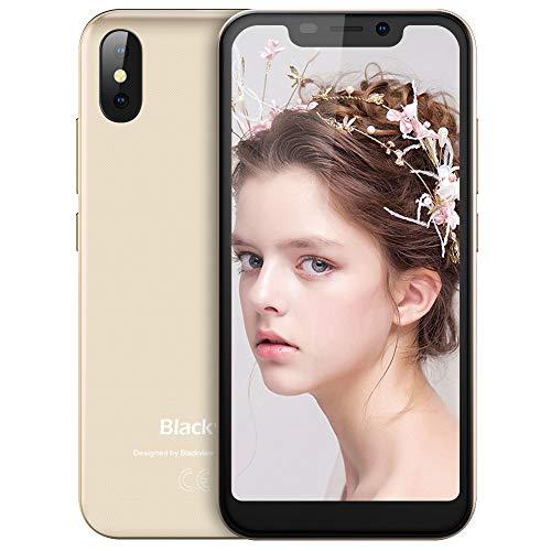 Blackview A30 Smartphone Dual SIM 2GB RAM, 16GB ROM, Cámara Dual de 8MP+5 MP, 3G Android 8.1 Oreo Móviles Libres,...