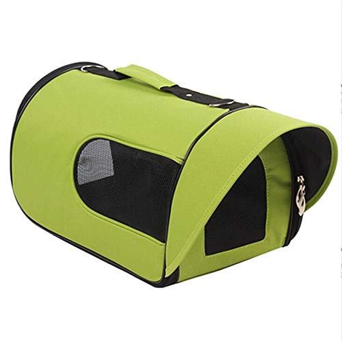 YSY Out-of-Port Tragbare Umhängetasche Haustierrucksack Haustierreisetasche Weiches Material Haustier Breathable Hundetasche Airlines Zustimmen Air Backpack Pink,Green,S