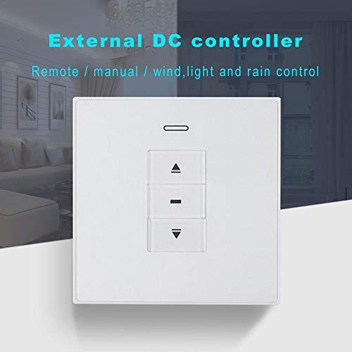 Todaytop Drahtlose Vorhang Fenster Fernbedienung Schalter mit Windlicht Regensensor Kontrolle Smart DC24V Controller Empfänger Smart Home Gerät