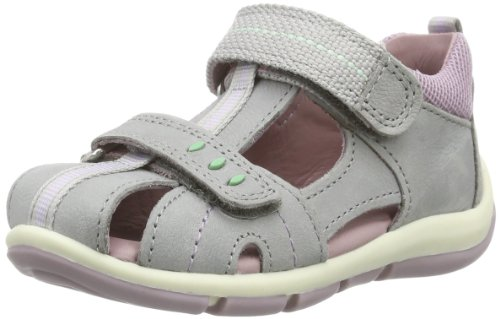 Superfit  Freddy, Sandales pour fille Gris - Grau (griffin multi 42)