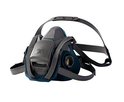 3M Atemschutz-Halbmaske 6502QL – Atemmaske mit Cool-Flow Ausatemventil & Quick-Release Mechanismus – Mehrwegmaske mit großer Filterauswahl für unterschiedlichste Einsatzzwecke