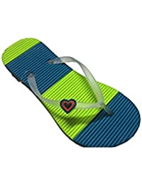 Viger_Hawai Men Slipper Size 6 Colour Blue And Green Set Of 60