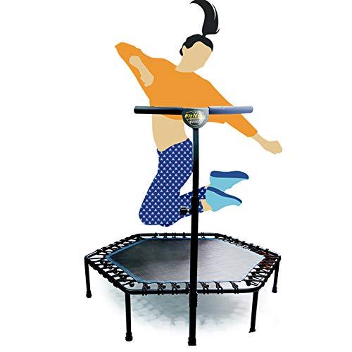 """Hfoobsa 48\"""" Mini Trampolin Mit Griff, Sicherheit Und Langlebiges Gut Sport Ausbildung Gewicht Bungee Federnd Werkzeuge (Maximale Belastung 150 Kg)"""