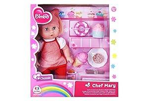 GLOBO- Doll 33Cm Sweeties W/6 Acc (39070), (1)