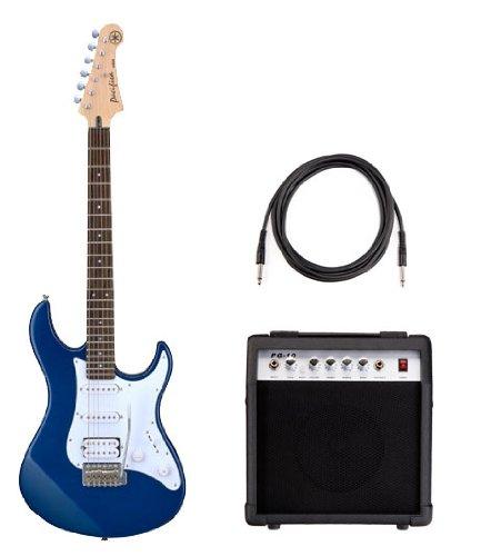Yamaha Pacifica 012 E-Gitarre + Amp + Kabel, Blue