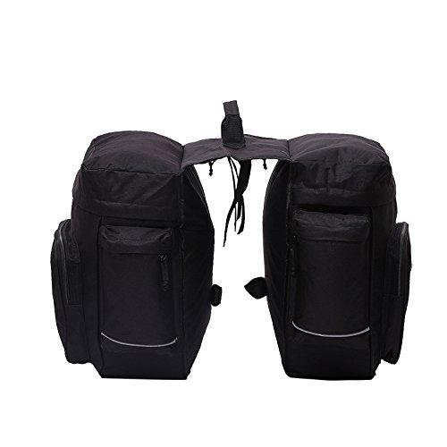 &ZHOU bicicletta impermeabile pacchetto fascio sedile posteriore