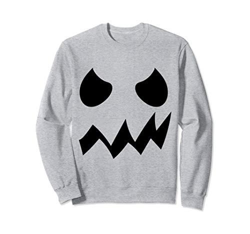 Gruselig Jackolantern Erwachsene Kostüm - Dämon Kürbis Gesicht Halloween Kostüm Jackolantern