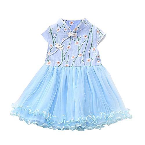 JUTOO Nettes Baby scherzt Mädchen-Prinzessin Floral Tutu Birthday Party, das Prinzessin Dress Wedding ist ()