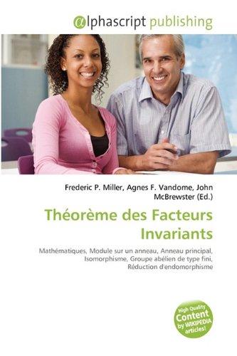 Théorème des Facteurs Invariants
