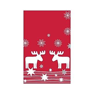 Susy Card 11327863de mantel de Navidad, mesa (estampado, 1pieza, plastificado, diseño: Elmar, 80x 80cm