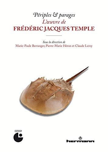 Périples & parages. L'oeuvre de Frédéric Jacques Temple par