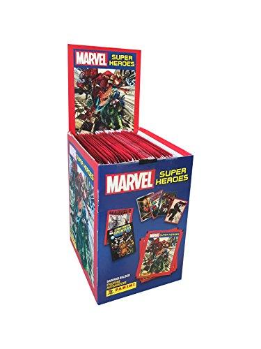 Panini–Caisse à 50Range Marvel Super Heroes (003311box50e)