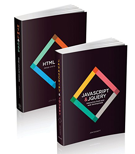 Web Design with HTML, CSS, JavaScript and jQuery Set por Jon Duckett