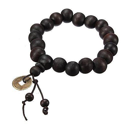 Youpin Holz Buddha-Perlen, buddhistische Gebetskette, Mala-Armband, Tibet