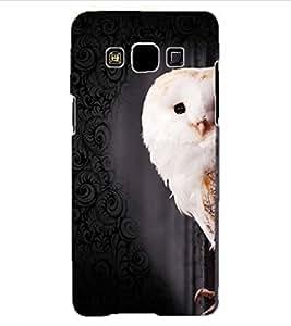 ColourCraft Cute Owl Design Back Case Cover for SAMSUNG GALAXY A3