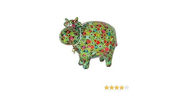 gr/ün Wiese Pomme Pidou Spardosen Schaf Bunte Tiermotive aus Keramik