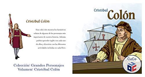 CRISTOBAL COLON: GRANDES PERSONAJES DE LA HISTORIA por CUCO COMPANY AMERICA CORP CUCO COMPANY AMERICA CORP