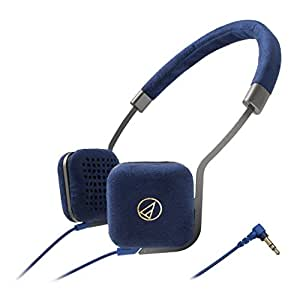 Audio-Technica ATH-UN1 Headphones (Navy)