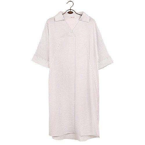 donna abbigliamento in estate/Fresche sottile strisce verticali blu e bianco