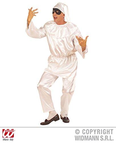 Kostüm für Clown Circus Frankreich French Mime Fancy Kleid Stecker UK 40–42Brust (Pulcinella Kostüm)