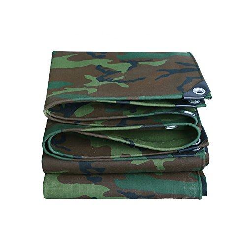 XUEYAN Camouflage Plane Waterproof Heavy Duty Verdicken Leinwand Plane Abdeckung Outdoor Sonnenschutz Zelt Splice Markise Sun Shade-Polyester, 500G / M² (größe : 4.5 * 5m)