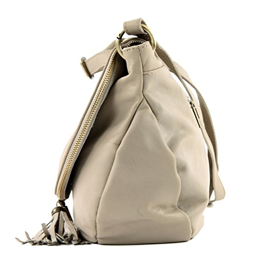 Made Italy, Borsa a tracolla donna (Helltaupe)