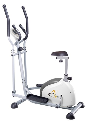 V-fit G-CET Combination 2-in-1 Magnetic Cycle-Elliptical Trainer