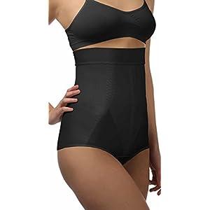 ®BeFit24 Miederhose: hohe Taille – mit Bauch-weg-Effekt und Anti-Rutsch-Silikonband für Damen.