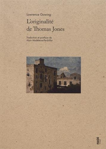 L'originalité de Thomas Jones