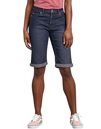 Dickies Womens Perfect Shape Denim Bermuda Shorts
