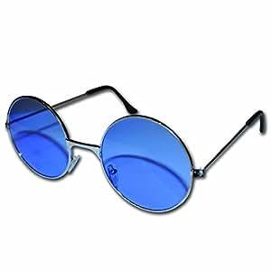 blau runde john lennon stil sonnenbrille blue john lennon. Black Bedroom Furniture Sets. Home Design Ideas