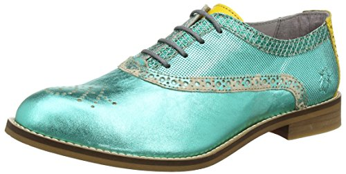 Fly London Eile943fly, Scarpe Stringate Basse Brogue Donna Giallo (lakelemon)
