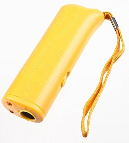 SaySure - 1pcs Anti Bark Barking Pet Dog Repeller 3 in 1 LED Light Torch