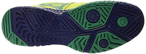 Asics Gel-Resolution 6, Chaussures de Tennis Homme Vert (lime/pine/indigo Blue 0588)